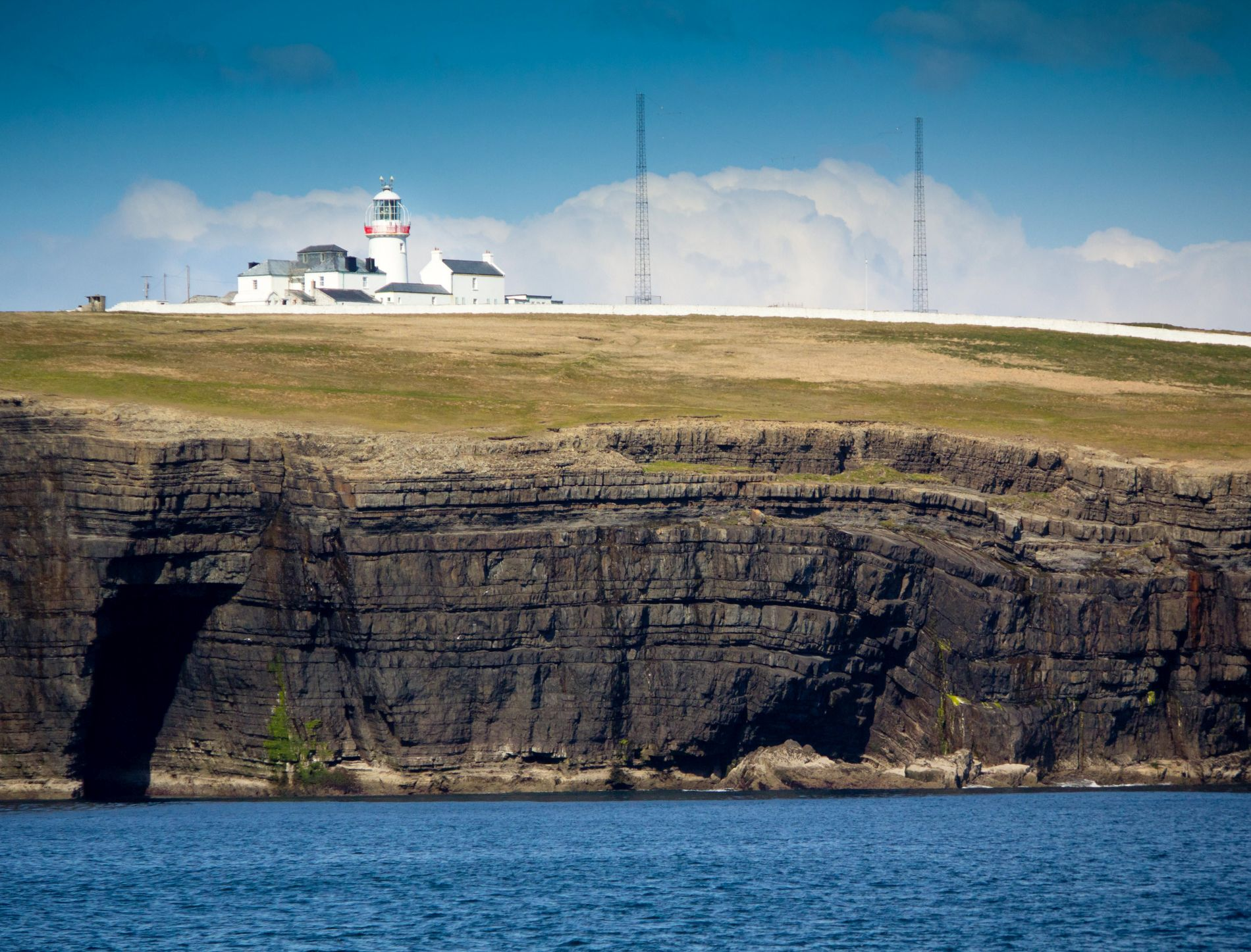 Loop Head Lighthouse Pic by Valerie O'Sullivan / Clare County Council