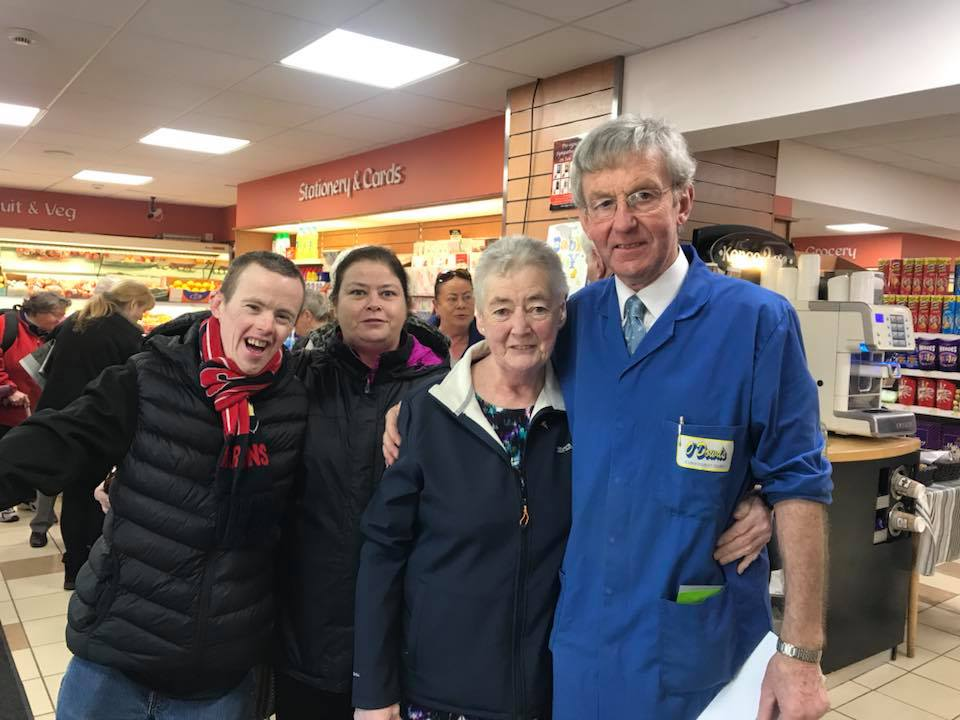 Jim O'Dowd and his customers