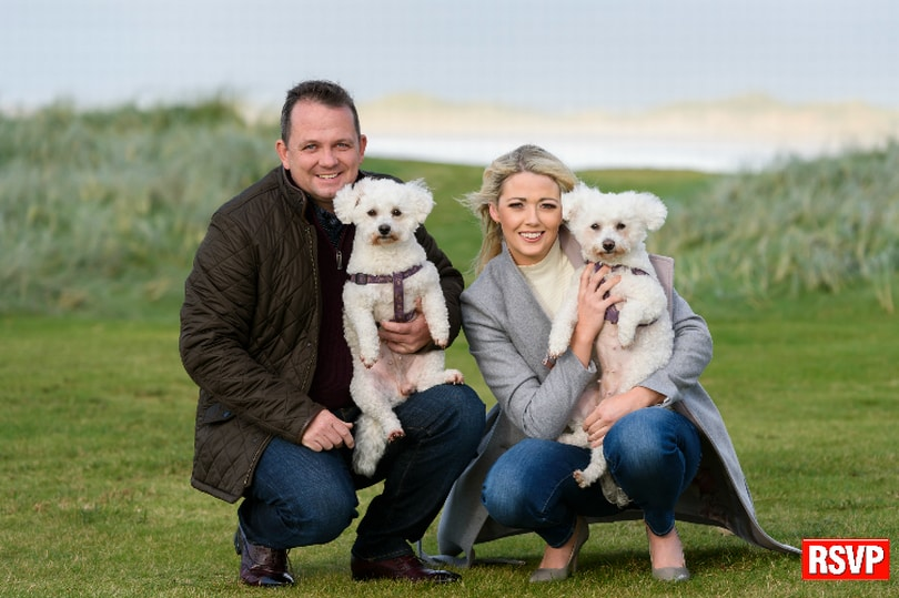 Davy Fitzgerald and Sharon O'Loughlin, Photo: RSVP Magazine