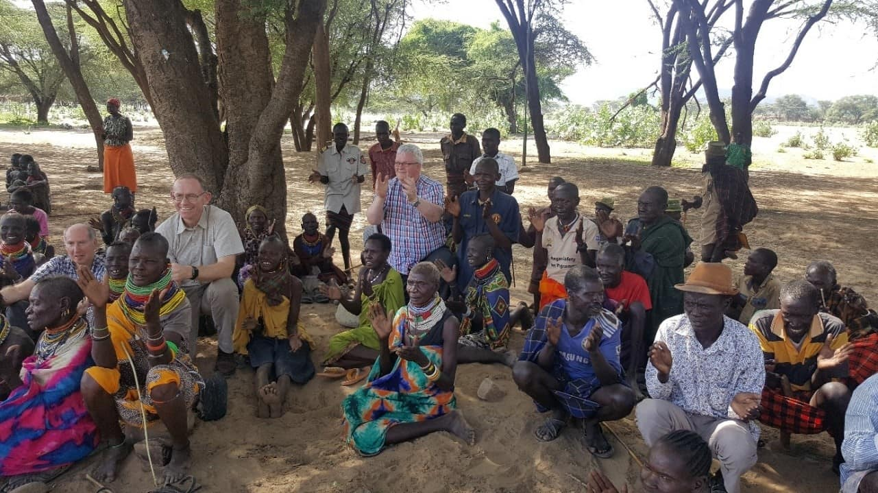 Bishop Fintan Monahan visits Kenya