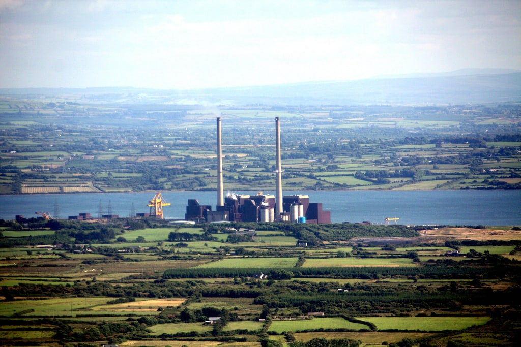 Moneypoint Power Station. Pic: Fergal Clohessy