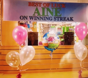 Duffy's Chemist show their support for Aine