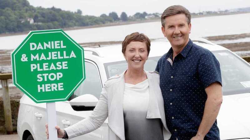 Daniel and Majella. Pic: RTE