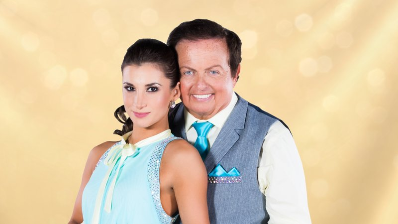 Marty Morrissey and his partner Ksenia Pic: RTE
