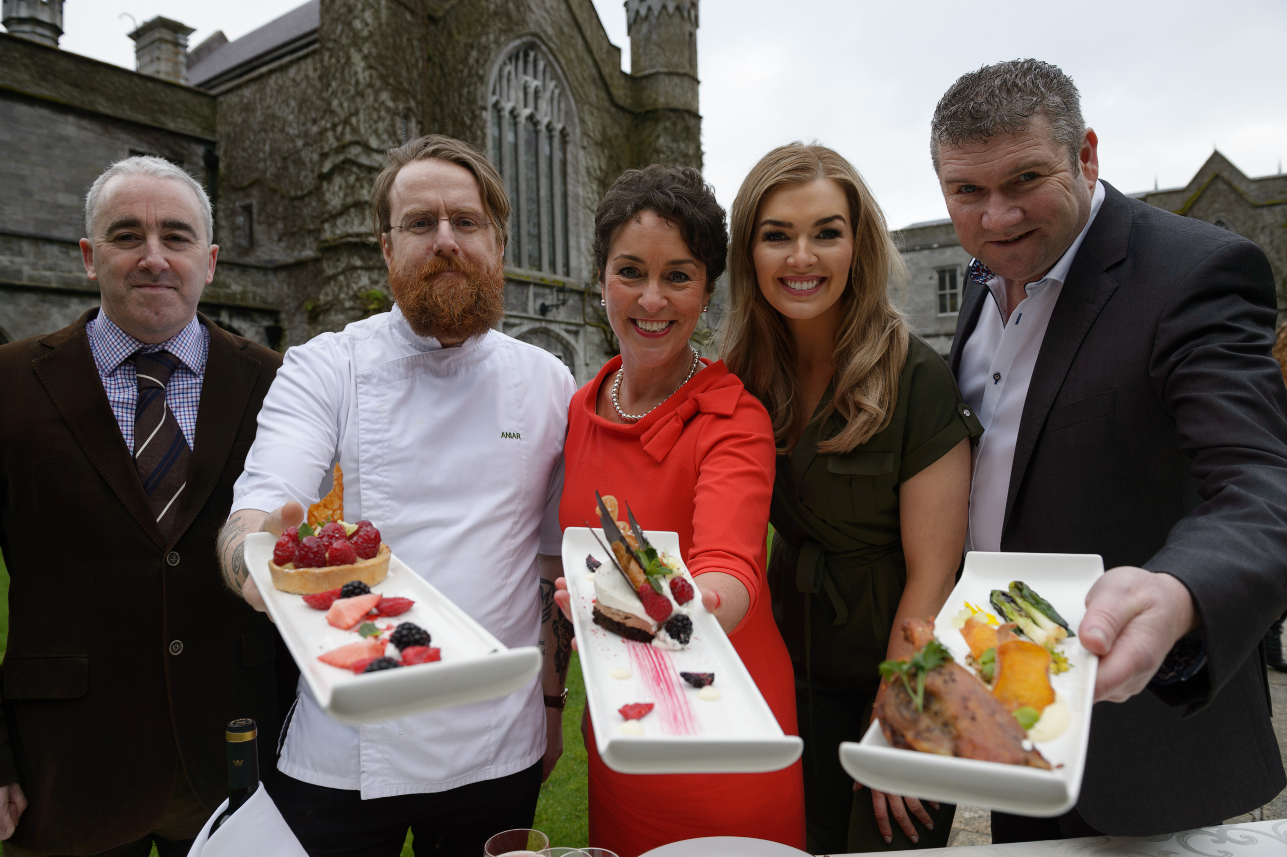 TG4's Cáitlín Nic Aoidh brings sunlight on the announcement of touRRoir18 Photo: Andrew Downes, XPOSURE