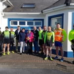 Mary Hickey with the Kilrush branch of the RNLI and the West Clare Tri Club Photo: Gene Clohessy