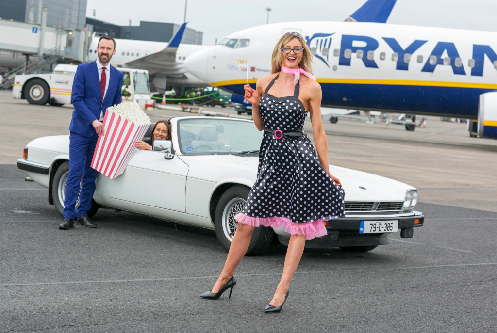 Shannon Airport drive-in