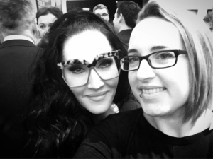 Michelle Visage and Faye Bradley
