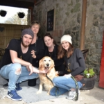 Millie is the guest of honour at Missybud Cafe, Corofin