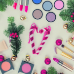 Christmas make up cosmetics