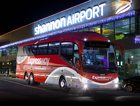 Bus Éireann 'stood behind Shannon Airport when everybody else was