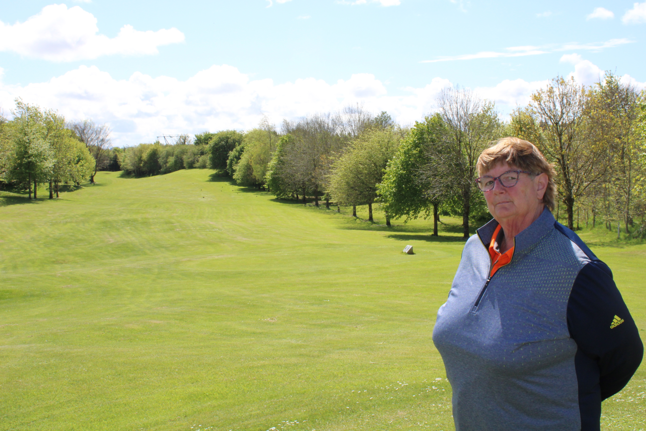 Woodstock Golf Club manager Anne Marie Russell