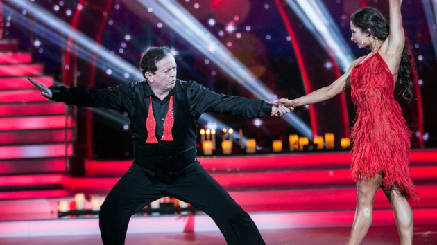 Marty and Ksenia Pic: RTE