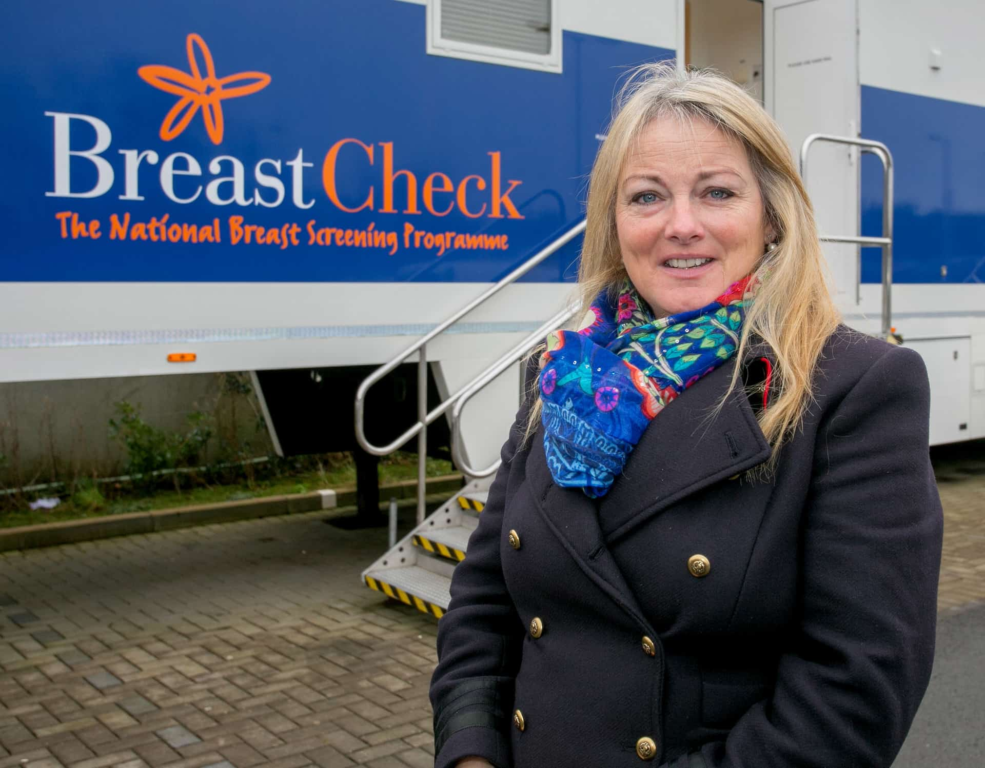 Councillor Mary Howard at the BreastCheck clinic in Ennis. Pic: Arthur Ellis