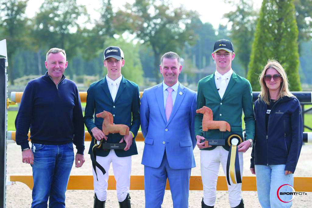 Ryhs and Coen Williams Showjumping Awards